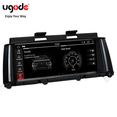 Qualcomm Android10.0 Screen Stereo Multimedia GPS Navigation BMW X3 X4 F25 F26  • 397.79£