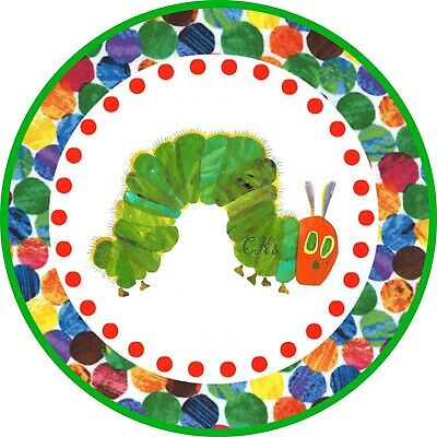 Hungry Caterpillar 7 Inch Edible Image Cake & Cupcake Toppers/ Party/ Birthday • 6.05£