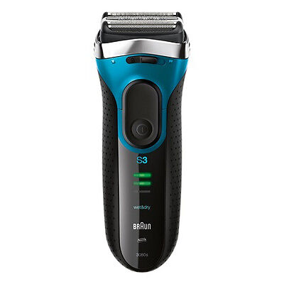 View Details Braun Series 3 ProSkin 3080s Wet And Dry Mens Electric Rechargeable Shaver Razor • 60.00£