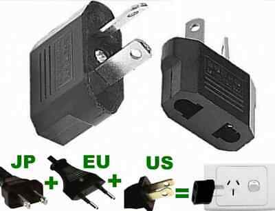 AU15.74 • Buy 4 X Japan Jap USA US EU To Au Australia Travel Power Plug Socket Travel Adapter