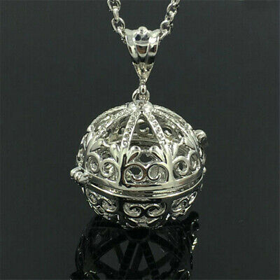 AU1.15 • Buy Hollow Aromatherapy Essential Oil Diffuser Perfume Locket Pendant For Necklace