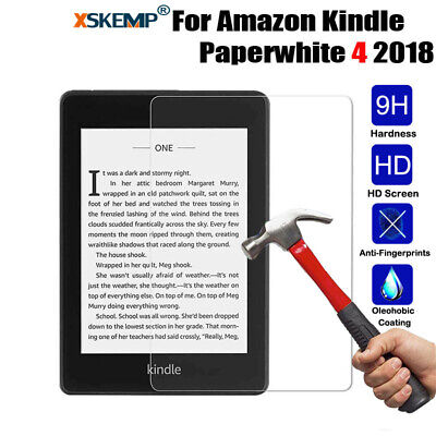 AU6.29 • Buy Tempered Glass Screen Protector For Amazon Kindle Paperwhite 4 2018 Fire HD 10/8