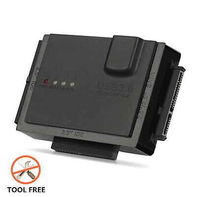 AU61.99 • Buy USB 3.0 To SSD/SATA/IDE Adapter (6TB)For 2.5 /3.5  External Hard Drive Disk HDD