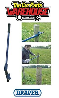£34.29 • Buy Draper 57547 Fence Wire Tensioner Strainer Tensioning Tool Barbed Fencing