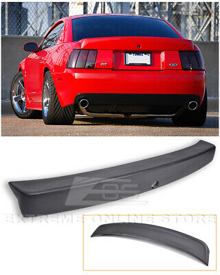 $139.98 • Buy For 99-04 Ford Mustang CBR Style Rear Trunk Wing Spoiler - Opening For Key Hole