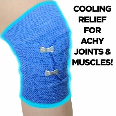 ICE WRAP COLD BANDAGE MUSCLE PAIN RELIEF KNEE WRIST ANKLE HAMSTRING Compression • 5.99£