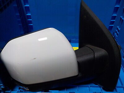 $197.99 • Buy New Oem Passenger Right Power Fold Blind Spot Signal Puddle Oxford White F150