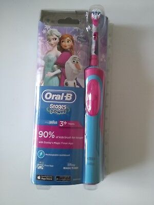 AU80 • Buy Oral B Stage Power Kids Electric Toothbrush Frozen Princess