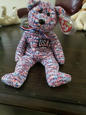 $70 • Buy Ty USA Beanie Baby 2000 Retired Tag Errors