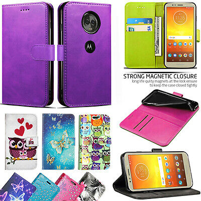 For Motorola Moto G7 Play Plus Power PU Leather Wallet Phone Flip Case Cover • 4.99£