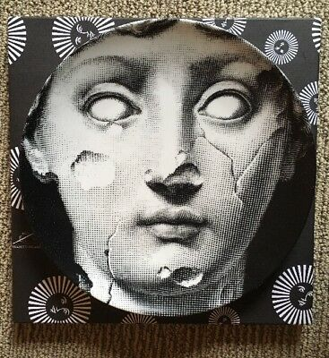$219 • Buy Fornasetti Plate Tema E Variazione #125 Julia Lina As Sculpture, NEW Milan ORIG!