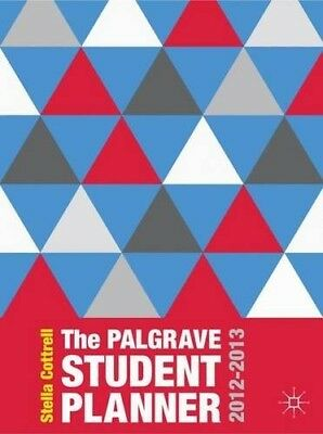 Very Good, The Palgrave Student Planner 2012-2013 (Palgrave Study Skills), Cottr • 6.34£