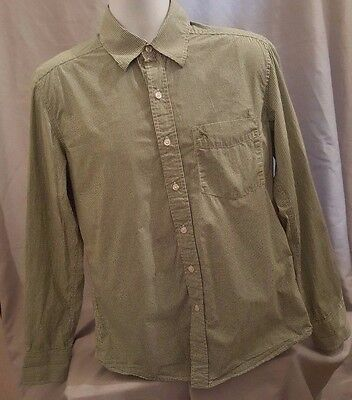 L.O.G.G. Label Of Graded Goods H&M Green Checked Button Front Fitted Size M • 15.49$