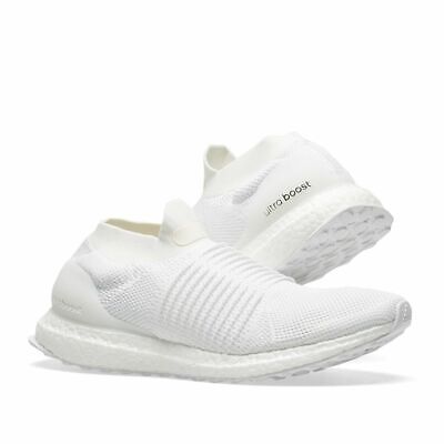 dd04107ac ADIDAS ULTRABOOST LACELESS Men s WHITE Running Shoes BB6146 SLIP ON Ultra  BOOST • 79.99