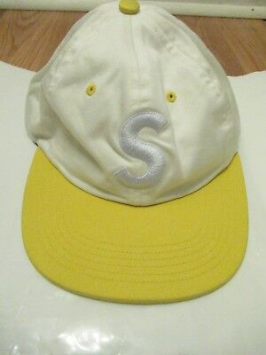 $ CDN169.83 • Buy Supreme S Logo Hat Two Tone Yellow/White