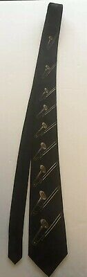 Steven Harris Hand Made Trombone Men's Tie Black • 12$