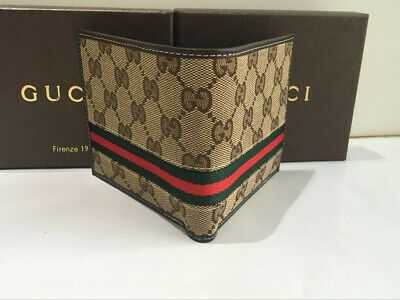 4fadaddb953 New Authentic Gucci GG Style Men s Bifold Wallet • 44.99