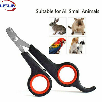 £2.43 • Buy Dog Pet Rabbit Bird Cat Nail Toe Claw Clippers Trimmers Scissors Cutter Tool UK