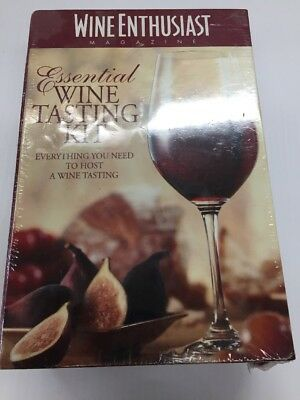 Wine Enthusiast Essential Wine Tasting Kit  • 15$