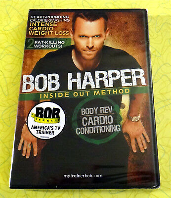 Bob Harper New DVD Video  Inside Out Method Body Rev Cardio Conditioning Workout • 5.71£