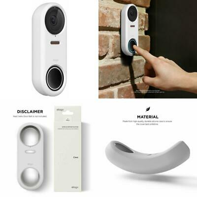 AU20.62 • Buy Nest Hello Case Cover Ring Doorbell White Protection UV Light Resistant Weather