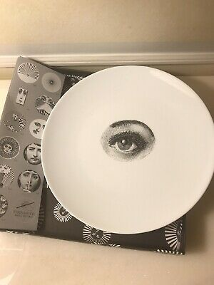 $170 • Buy New In Box Authentic Fornasetti Milano Wall Plate Tema E Variazioni  # 35