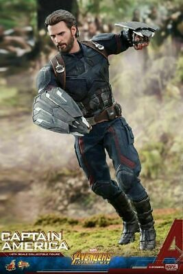 $ CDN458.56 • Buy Hot Toys 1/6 Captain America Infinity War Action Figure Model MMS480 Collection