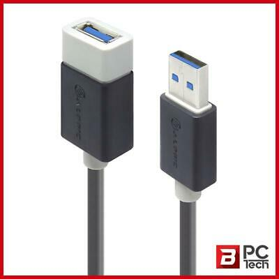 AU16 • Buy ALOGIC 3m USB 3.0 Type A To Type A Extension Cable - Male To Female