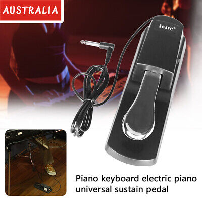 AU24.68 • Buy Piano Damper Sustain Pedal Foot Switch For Keyboard Yamaha Casio Roland Korg Hot