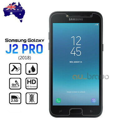 AU4.25 • Buy 2x Tempered Glass Screen Protector Film Guard For Samsung Galaxy J2 Pro 2018