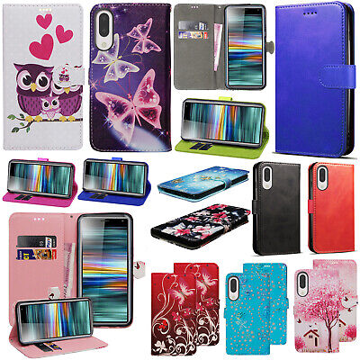 For Sony Xperia L3 New Stylish Stand PU Leather Wallet Flip Phone Case Cover • 3.49£
