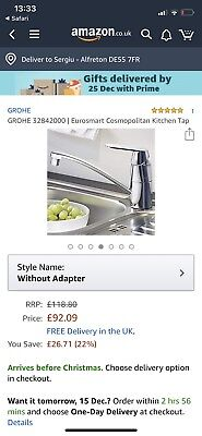 Grohe Kitchen Tap • 65£