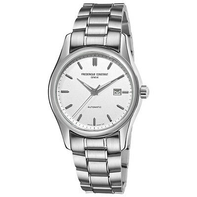 Frederique Constant Men's Index Stainless Steel Automatic Date Watch FC303S6B6B • 499$