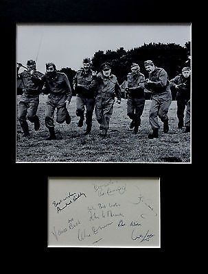 £24.13 • Buy DAD'S ARMY Signed Autographs PHOTO DISPLAY Arnold Ridley John Le Mesurier