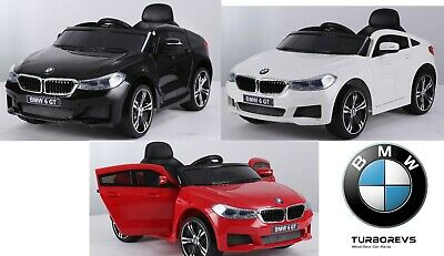 Official Licensed 12v Bmw Gt 6 Series Kids Electric Ride On Car Parental Remote • 154.99£
