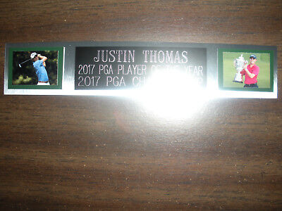 £5.73 • Buy Justin Thomas (golf) Nameplate For Autographed Ball Display/flag/photo