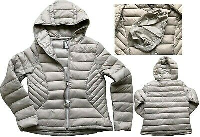 NEXT Ladies SILVER BEIGE Packaway Padded Puffa Duck Down Coat Jacket £50 6 - 26 • 24.95£