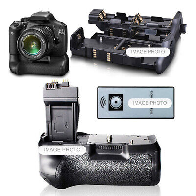Battery Hand Grip For Canon 550D 600D 650D 700D Rebel T2I T3I T4I T5I + Remote • 80.71£