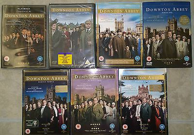 Downtown Abbey Dvd Boxsets Job Lot Series 1-5 & X2 Christmas Specials • 39.99£