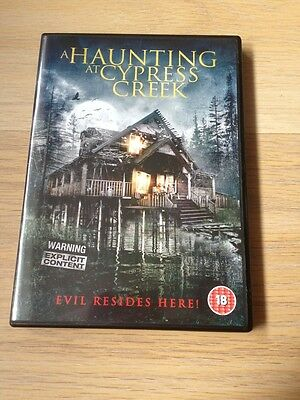 A Haunting At Cypress Creek DVD Horror (2015) • 4£