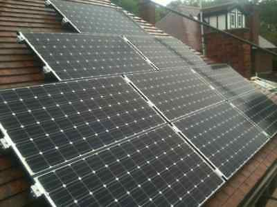 £2795 • Buy 3kW Solar PV Panel System Fully Installed UK (MCS Accredited / FIT / Export)
