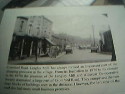 Book Picture Heanor Cromford Road Langley Mill 1940's • 2£