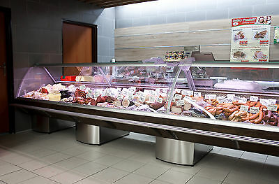 Serve Over Counter 7.5m Display Fridge Meat Chiller Top Model Super Look • 7,900£