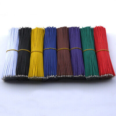 £0.99 • Buy 24AWG Jumper Breadboard Wire Electronic Wires Double Tinning UL1007 Variou Color