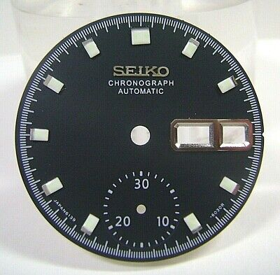 $ CDN32.88 • Buy New Aftermarket Replacement Dial For 6139-6002 / 05 Chrono Pogue Matte Black!