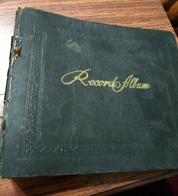 $8.99 • Buy Vintage 78RPM  7  Record Album 15 Albums Sleeves Preowned Used