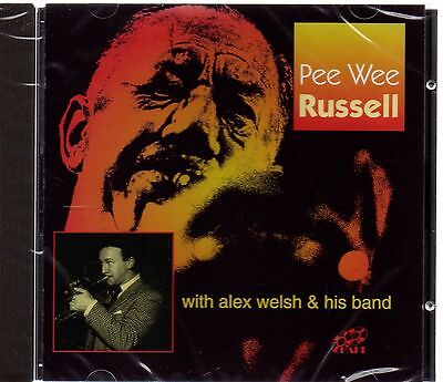 Pee Wee Russell With Alex Welsh & His Band (brand New CD 2002) • 3.95£