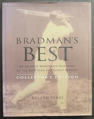 AU40 • Buy Bradman's Best: Collectors Edition By Roland Perry