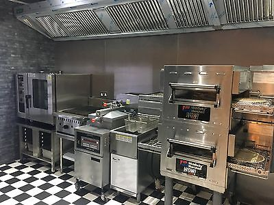 Henny Penny Fried Chicken & Pizza Shop & Ice Cream / Fast Food Equipment Package • 16,495£