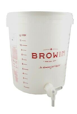 12l Fermentation Bucket For Wine,beer,cider,+tap+airlock & Optional Accessories • 6.04£